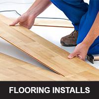 Flooring installs