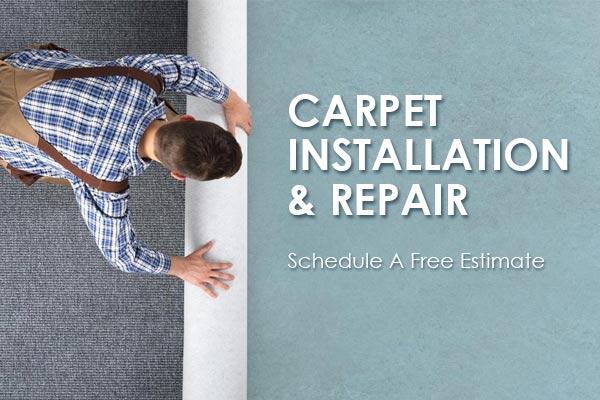 Carpet install & repair